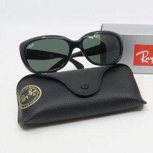 RB 4101 601 Ray-Ban Black Jackie Ohh Sunglasses